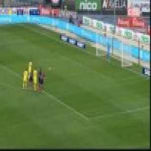 Chievo [1]-1 Bologna - Riccardo Meggiorini penalty 20'