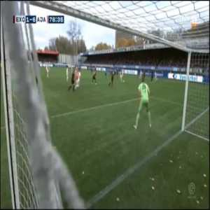 Excelsior 1-[6] Ajax - Hakim Ziyech 79'