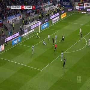Frankfurt 2-0 Schalke - Luka Jovic 73'