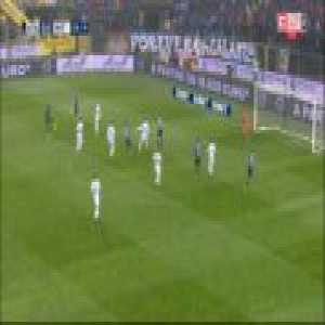 Great double save by Samir Handanović