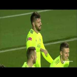 Lokomotiva 0:[1] Dinamo - Petković great bicycle kick goal 16'