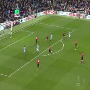 Manchester City [2]:0 Manchester United - Sergio Agüero 48'