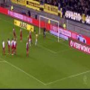 Martin Ødegaard free kick Vitesse vs fc Utrecht 2-0