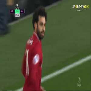 Mohamed Salah goal (Liverpool [1]-0 Fulham) 41'