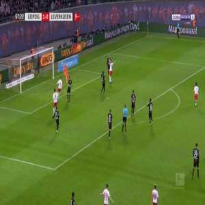 RB Leipzig 2-0 Leverkusen - Lukas Klostermann 68'