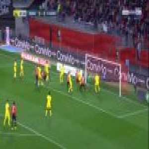 Rennes 1-0 Nantes - Clement Grenier free-kick 8'