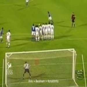 Ronaldinho Vs Beckham Vs Pirlo ● 10 Unimaginable Free Kicks Goals