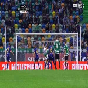 Sporting [2]-1 Chaves - Bas Dost penalty 86'