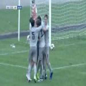 Leonardo Spinazzola scores for Juventus Primavera in his first game back after a Cruciate Ligament injury