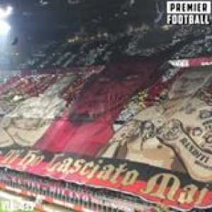 AC Milan's tifo vs Juventus looked INSANE! 😯