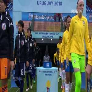 Brazil U17 vs Japan U17 - FIFA U-17 Women's World Cup - 13.11.2018