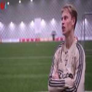 "Frenkie de Jong: ""I like Inter a lot. At the moment I wouldn't want to play at AC Milan"""