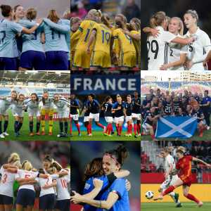 Official: All of Europe's 9 spots in the 2019 Women's World Cup have been confirmed | France, Germany, Italy, Spain, England, Scotland, Sweden, Norway, and the Netherlands