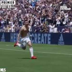 Zlatan Ibrahimovic wins Major League Soccer (MLS) Goal of the Year with his debut WONDERGOAL vs LAFC 🇺🇸🏆