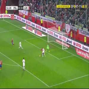 J. Jankto goal (Poland 0-[1] Czech Rep) 52'