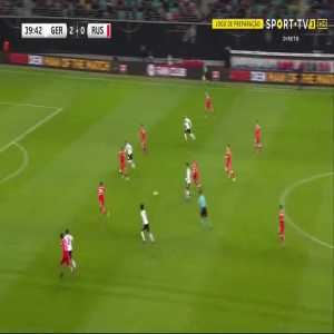 S. Gnabry goal (Germany [3]-0 Russia) 40'