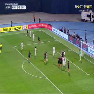 T. Jedvaj goal (Croatia [2]-1 Spain) 68'