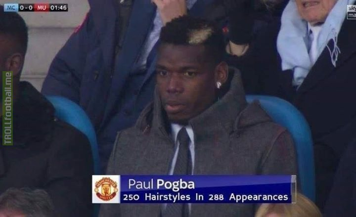 The only Pogba stat that matters 😂
