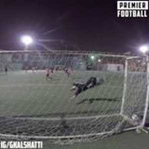 This goalkeeper has got cat-like reflexes 😱  Sign him up 👏