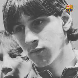 A very young Leo Messi talks about making his first team debut, 15 years ago today.