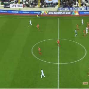 Cyprus 1-0 Bulgaria - Panyiotis Zachariou 24'