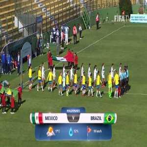 Mexico U17 1 vs 0 Brazil U17 - Full Highlights & Goals
