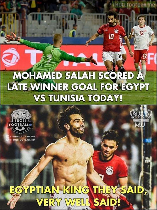Mohamed Salah The Egyptian King!😍🔥