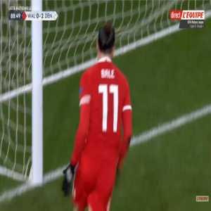 Wales [1]-2 Denmark - Gareth Bale 89'