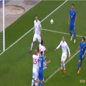 Azerbaijan 1-0 Faroe Islands - Dimitrij Nazarov 18'