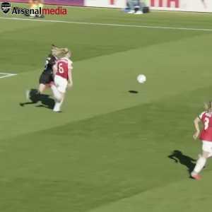 Danielle van de Donk with a beautiful move in the Women's Super League