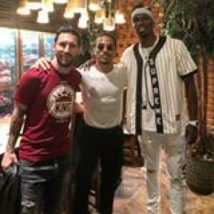 Messi and Pogba meet Salt Bae... 🥩