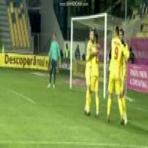 Romania 2-0 Lithuania - Claudiu Keseru 47'