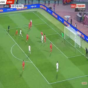 Serbia 2-[1] Montenegro - Stefan Mugosa 70'