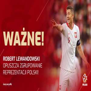 Robert Lewandowski leaves Polish national team ahead of Nations League match against Portugal with apparent knee injury.