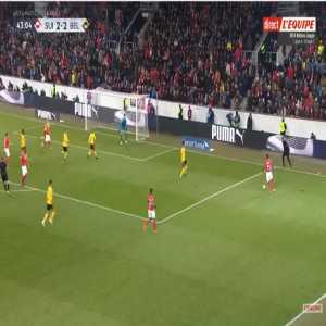 Switzerland [3]-2 Belgium - Haris Seferovic 44'