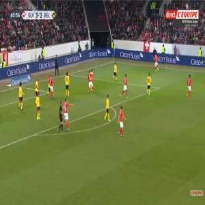 Switzerland [4]-2 Belgium - Nico Elvedi 61'