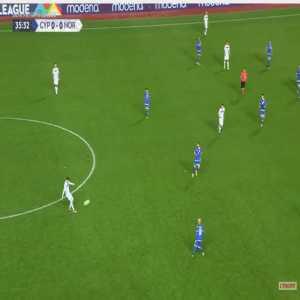 Cyprus 0-1 Norway - Ola Kamara 36'