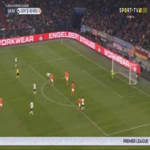 Germany 2-0 Netherlands - Leroy Sané 19'