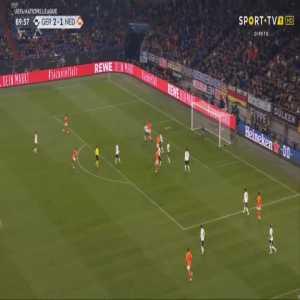 Germany 2-[2] Netherlands - Virgil Van Dijk 90'