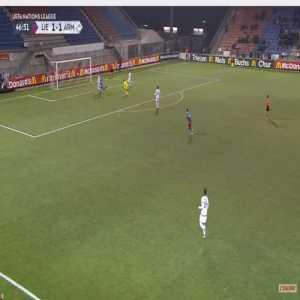 Liechtenstein [2]-1 Armenia - Nicolas Hasler 47'