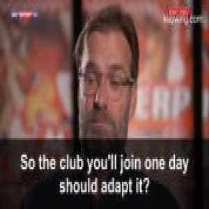"""Klopp asked by Sky Germany who he prefers between Pep Guardiola and Jose Mourinho: """"Pep, he's the best manager in the world."""""""