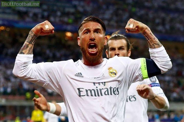 Sergio Ramos with drugs vs Sergio Ramos without drugs