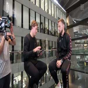 """Rakitic refused to answer on who's better between Modric and Messi, Neuer and Stegen, Valverde and Emery and when asked """"Barcelona or Sevilla"""" he said """"Sevilla""""."""