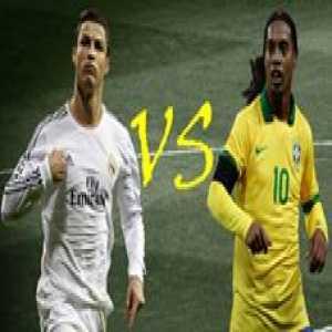 Ronaldinho and Cristiano Ronaldo Crazy skills