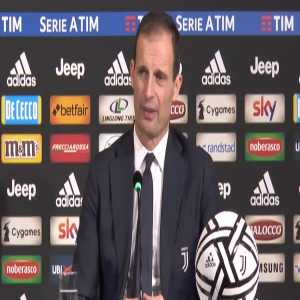 Allegri when asked if he heard about allegations of Ramos doping before the Cardiff CL final against Juventus: Verdict on the pitch is what matters and my thoughts go out to Walter Mazzarri who has to stop all professional activity due to illness. This is much more important.