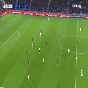 M. Cornet goal (Lyon [2]-1 Man City) 80'