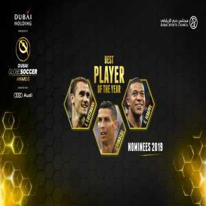 We're thrilled to announce the nominees for the Best Player of the Year Award: Antoine Griezmann, Cristiano Ronaldo and Kylian Mbappé.