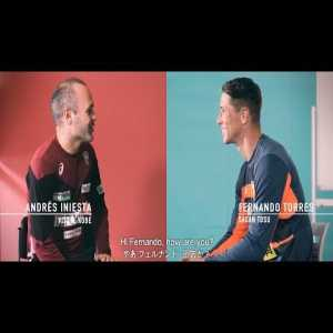 Andrés Iniesta and Fernando Torres talk about their adventure in the J-League