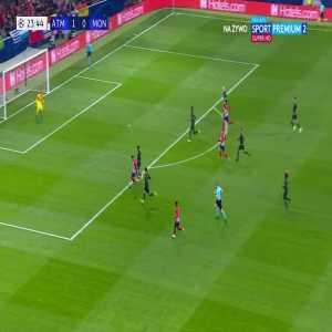 Atlético Madrid [2]:0 AS Monaco FC - Antoine Griezmann 24'