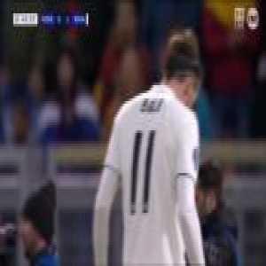 Gareth Bale's miss vs Roma
